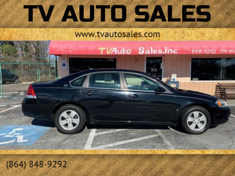 2008 Chevrolet Impala for sale at TV Auto Sales in Greer SC