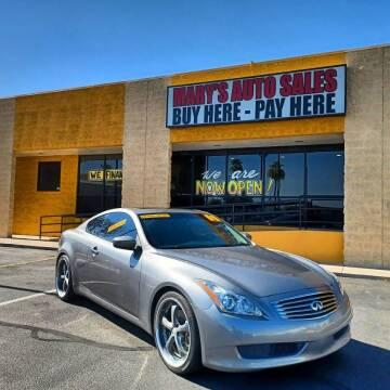 2008 Infiniti G37 for sale at Marys Auto Sales in Phoenix AZ