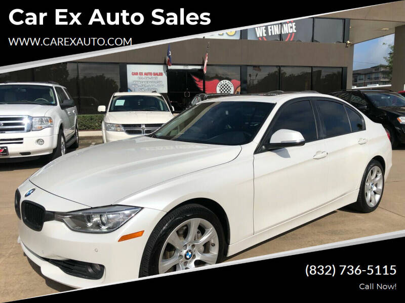 2014 BMW 3 Series for sale at Car Ex Auto Sales in Houston TX