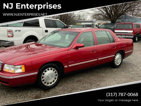 1998 Cadillac DeVille for sale at NJ Enterprises in Indianapolis IN