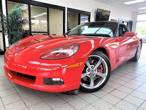 2008 Chevrolet Corvette for sale at SAINT CHARLES MOTORCARS in Saint Charles IL