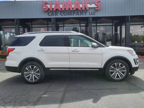 2016 Ford Explorer for sale at Siamak's Car Company llc in Salem OR