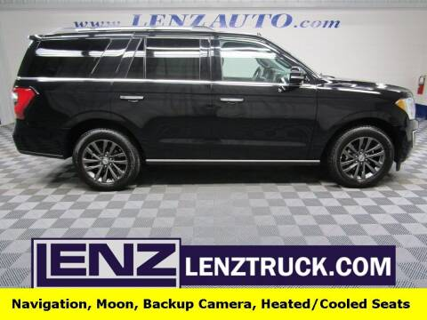 2020 Ford Expedition for sale at LENZ TRUCK CENTER in Fond Du Lac WI
