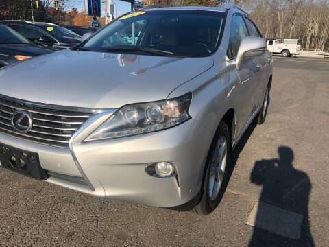 2014 Lexus RX 350 for sale at TOLLAND CITGO AUTO SALES in Tolland CT