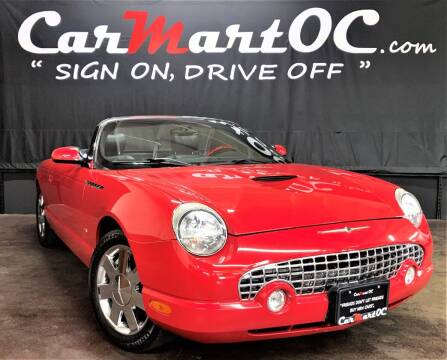 2003 Ford Thunderbird for sale at CarMart OC in Costa Mesa CA