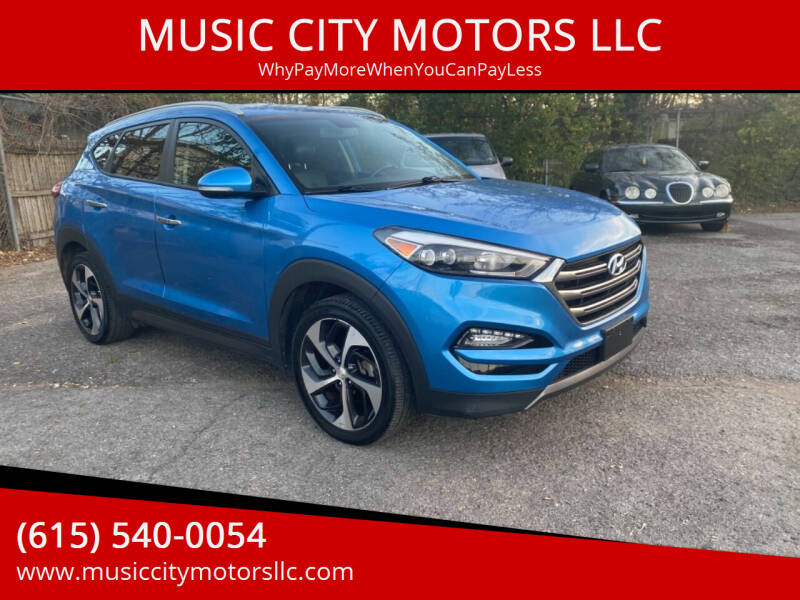 2016 Hyundai Tucson for sale at MUSIC CITY MOTORS LLC in Nashville TN