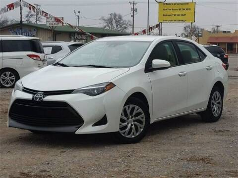 2018 Toyota Corolla for sale at Bryans Car Corner in Chickasha OK