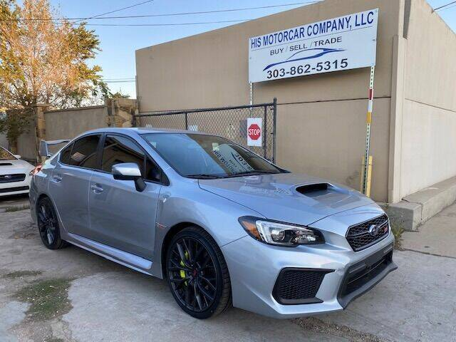 2019 Subaru WRX for sale at His Motorcar Company in Englewood CO