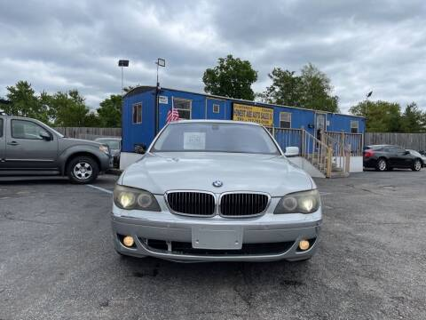 2008 BMW 7 Series for sale at Honest Abe Auto Sales 4 in Indianapolis IN