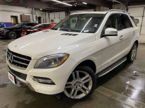 2013 Mercedes-Benz M-Class for sale at Sonias Auto Sales in Worcester MA