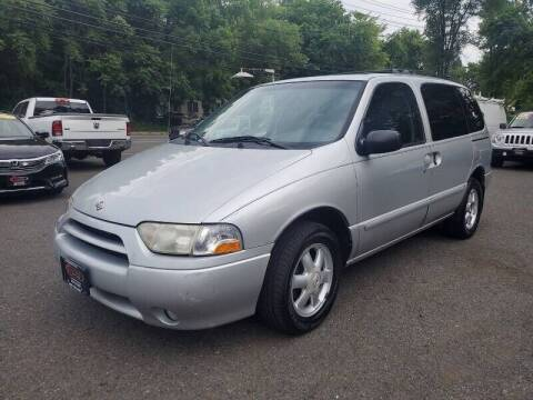 2002 Nissan Quest for sale at CENTRAL GROUP in Raritan NJ