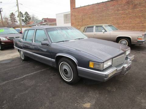 1990 Cadillac Fleetwood for sale at RON'S AUTO SALES INC - MAYWOOD in Maywood IL