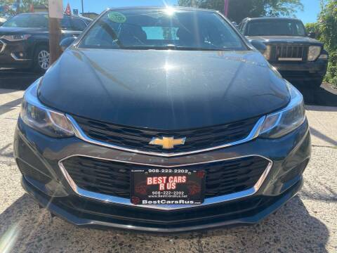 2018 Chevrolet Cruze for sale at Best Cars R Us in Plainfield NJ