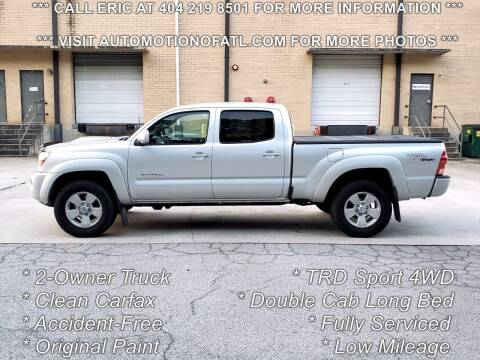 2007 Toyota Tacoma for sale at Automotion Of Atlanta in Conyers GA