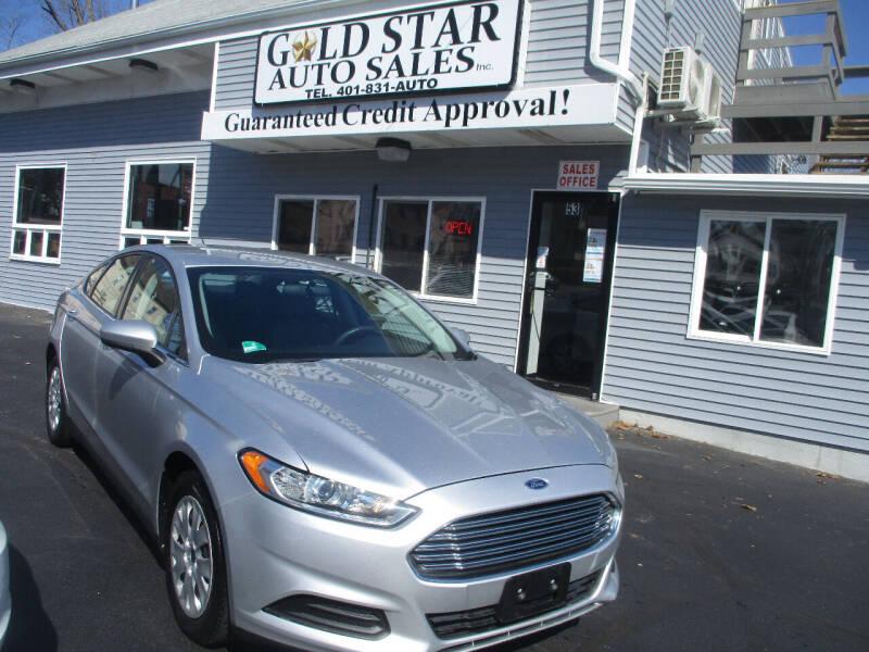 2014 Ford Fusion for sale at Gold Star Auto Sales in Johnston RI