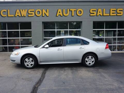 2010 Chevrolet Impala for sale at Clawson Auto Sales in Clawson MI