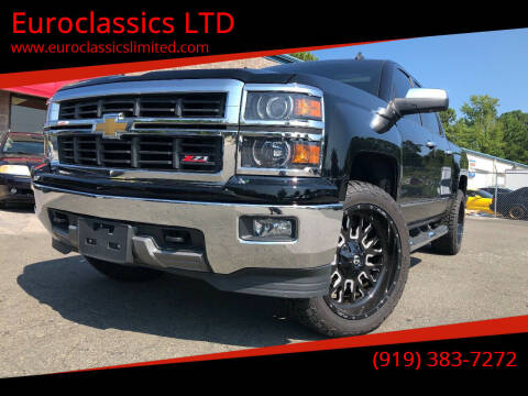 2014 Chevrolet Silverado 1500 for sale at Euroclassics LTD in Durham NC