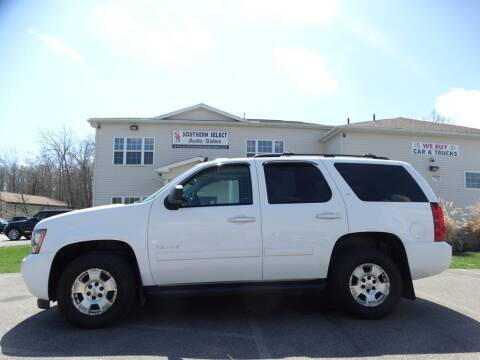 2013 Chevrolet Tahoe for sale at SOUTHERN SELECT AUTO SALES in Medina OH