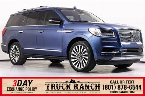 2019 Lincoln Navigator for sale at Truck Ranch in American Fork UT