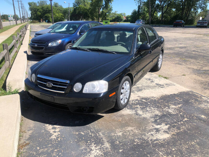 2006 Kia Optima for sale at D and D All American Financing in Warren MI