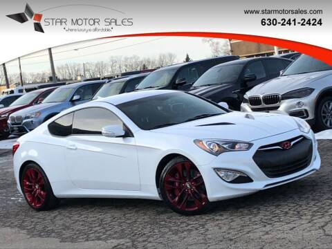 2016 Hyundai Genesis Coupe for sale at Star Motor Sales in Downers Grove IL