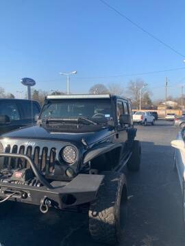 2009 Jeep Wrangler Unlimited for sale at Smart Auto Sales of Benton in Benton AR
