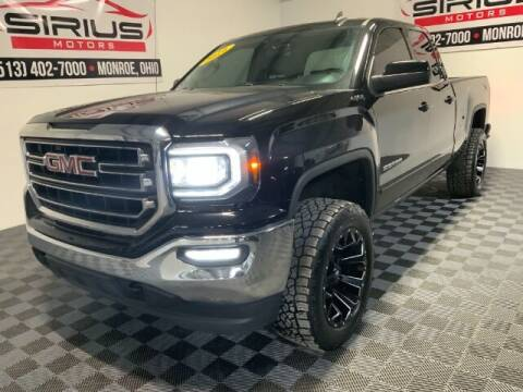 2016 GMC Sierra 1500 for sale at SIRIUS MOTORS INC in Monroe OH