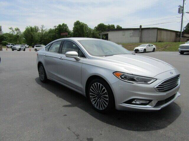 2018 Ford Fusion for sale at Specialty Car Company in North Wilkesboro NC