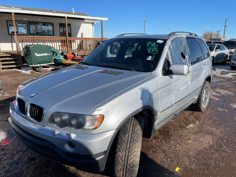 2003 BMW X5 for sale at PYRAMID MOTORS - Fountain Lot in Fountain CO