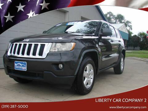 2011 Jeep Grand Cherokee for sale at Liberty Car Company - II in Waterloo IA