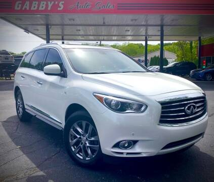2015 Infiniti QX60 for sale at GABBY'S AUTO SALES in Valparaiso IN