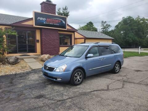 2014 Kia Sedona for sale at Pro Motors in Fairfield OH