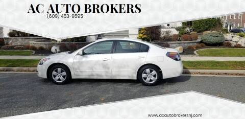 2008 Nissan Altima for sale at AC Auto Brokers in Atlantic City NJ