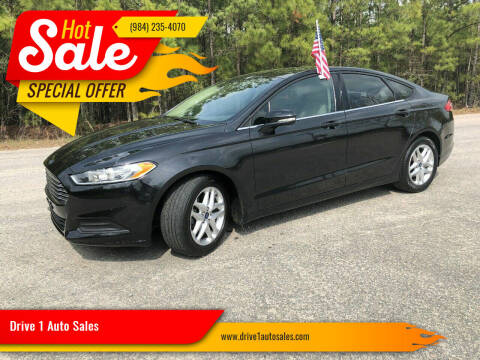 2013 Ford Fusion for sale at Drive 1 Auto Sales in Wake Forest NC