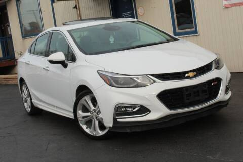 2016 Chevrolet Cruze for sale at Dynamics Auto Sale in Highland IN