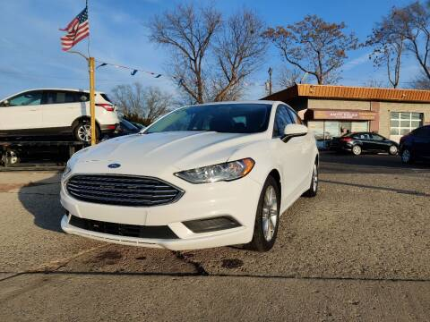 2017 Ford Fusion for sale at Lamarina Auto Sales in Dearborn Heights MI