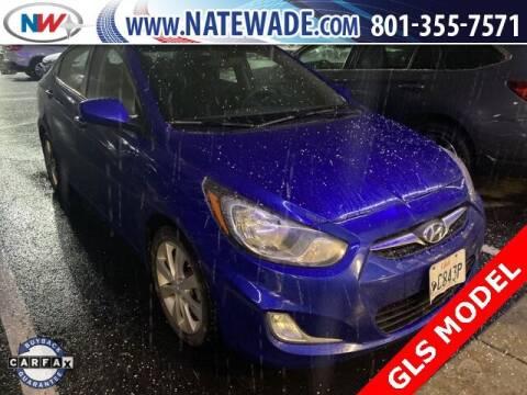 2012 Hyundai Accent for sale at NATE WADE SUBARU in Salt Lake City UT