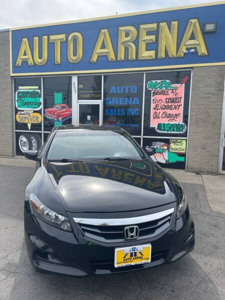 2012 Honda Accord for sale at Auto Arena in Fairfield OH