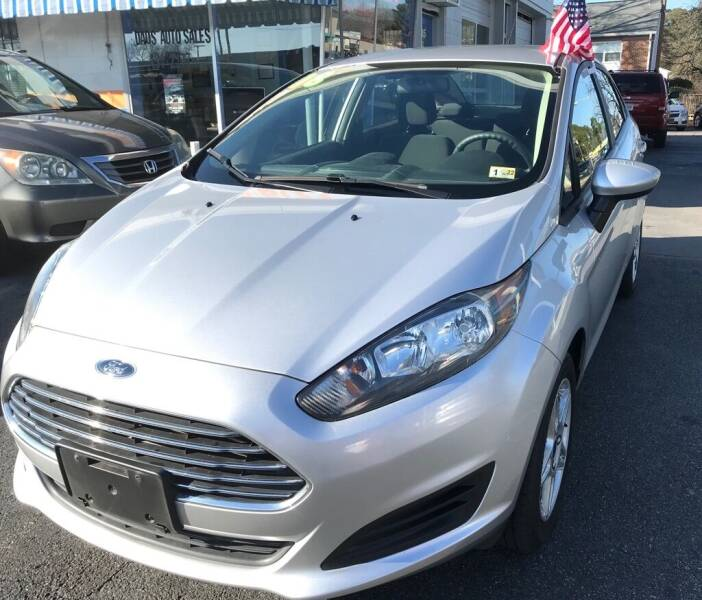 2018 Ford Fiesta for sale at Dad's Auto Sales in Newport News VA