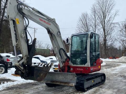 2016 Takeuchi Tb269 for sale at D & M Auto Sales & Repairs INC in Kerhonkson NY