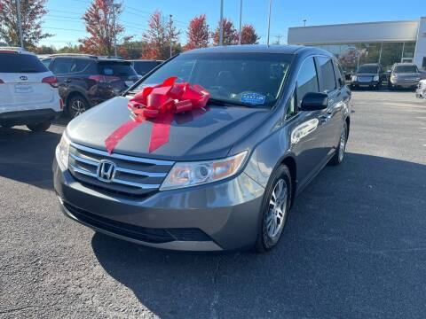 2012 Honda Odyssey for sale at Charlotte Auto Group, Inc in Monroe NC