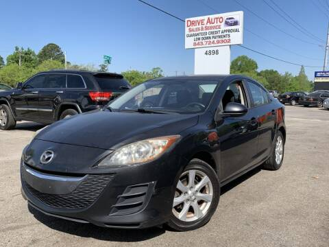 2010 Mazda MAZDA3 for sale at Drive Auto Sales & Service, LLC. in North Charleston SC