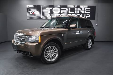 2010 Land Rover Range Rover for sale at TOPLINE AUTO GROUP in Kent WA