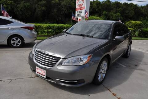 2013 Chrysler 200 for sale at STEPANEK'S AUTO SALES & SERVICE INC. in Vero Beach FL