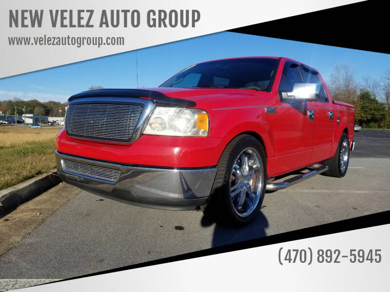 2008 Ford F-150 for sale at NEW VELEZ AUTO GROUP in Gainesville GA