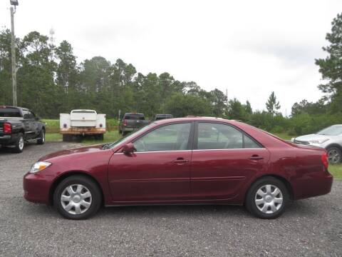 2002 Toyota Camry for sale at Ward's Motorsports in Pensacola FL