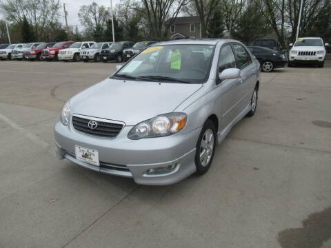 2006 Toyota Corolla for sale at Aztec Motors in Des Moines IA