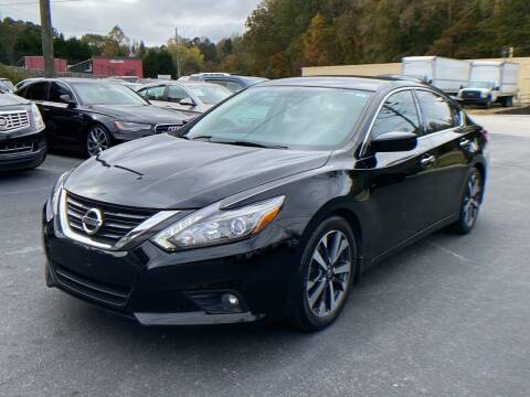 2016 Nissan Altima for sale at Luxury Auto Innovations in Flowery Branch GA