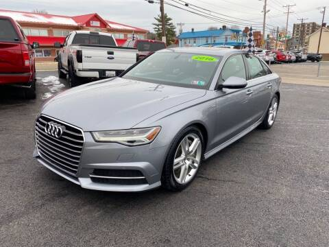 2016 Audi A6 for sale at Sisson Pre-Owned in Uniontown PA