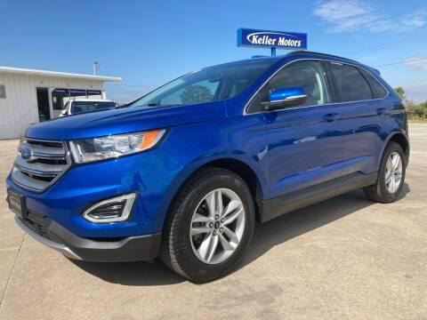 2018 Ford Edge for sale at Keller Motors in Palco KS